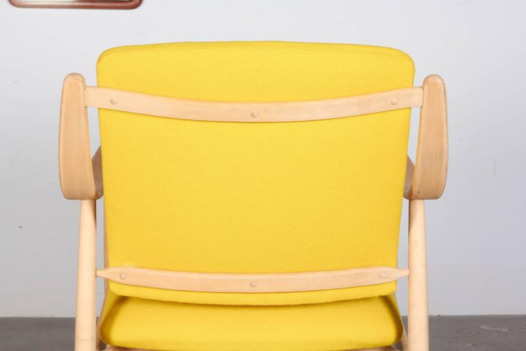 Mid Century Yellow Arm Chair by Torbjorn Afdal 8