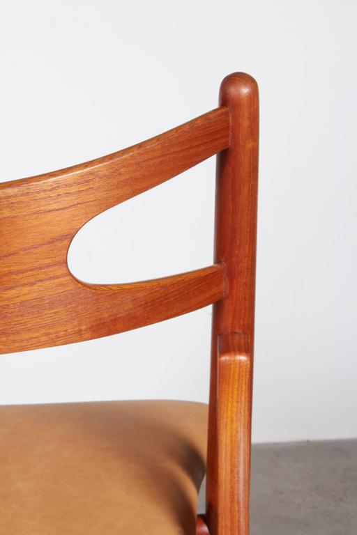 Teak Dining Chairs by Hans Wegner Sawbuck CH29, Set of Six 8