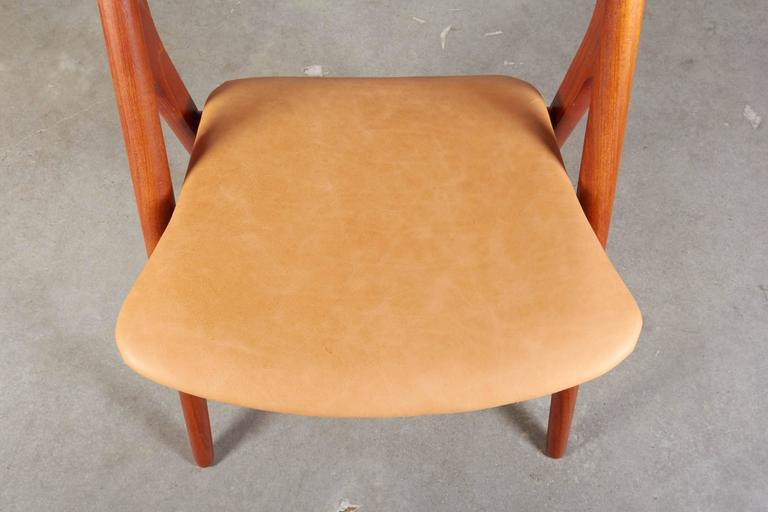Teak Dining Chairs by Hans Wegner Sawbuck CH29, Set of Six 9