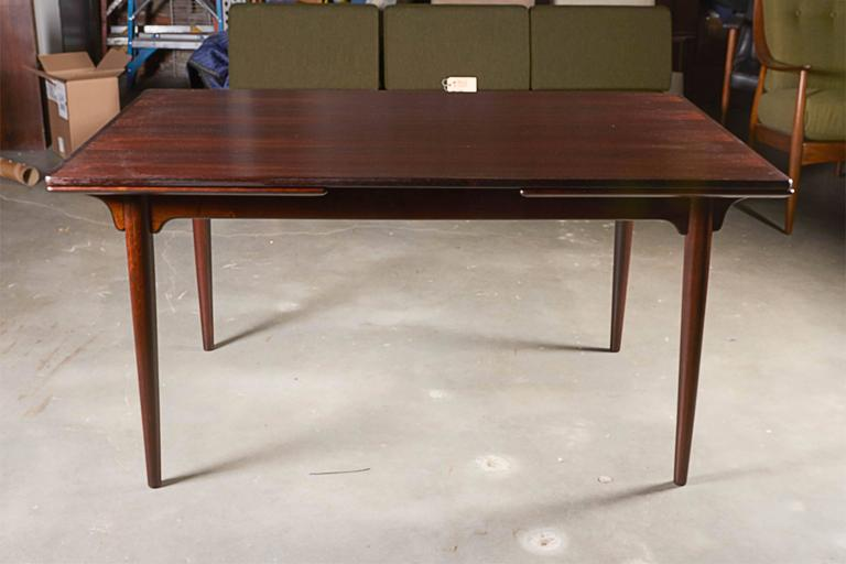 Rectangular Rosewood Dining Table by Omann Jun 2
