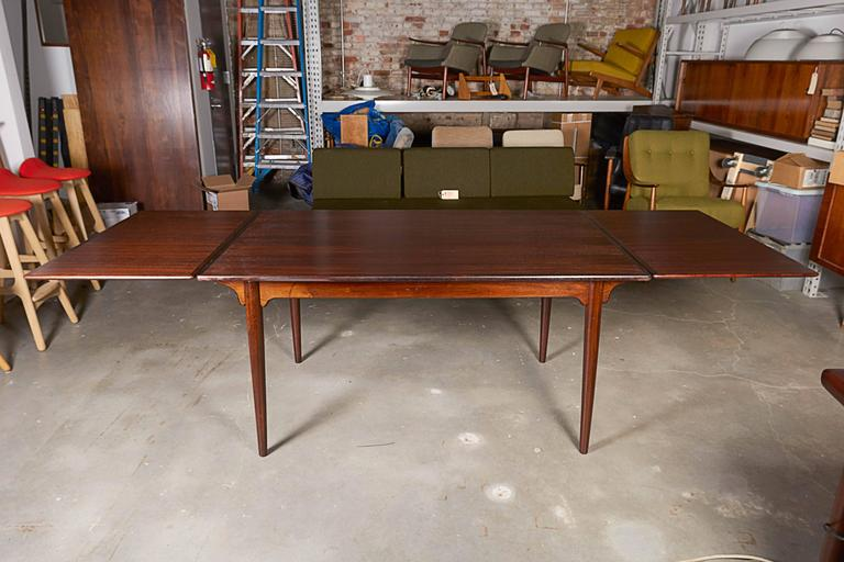 Rectangular Rosewood Dining Table by Omann Jun 3