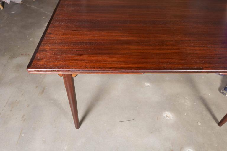 Rectangular Rosewood Dining Table by Omann Jun 4