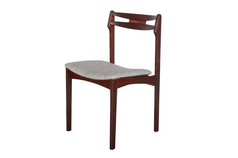 Mid Century Rosewood Dining Chairs, Set of 6 2