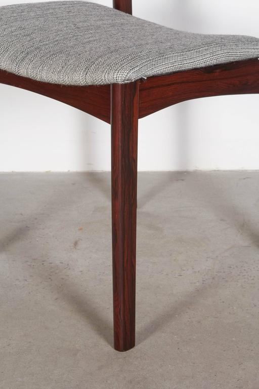 Mid Century Rosewood Dining Chairs, Set of 6 3