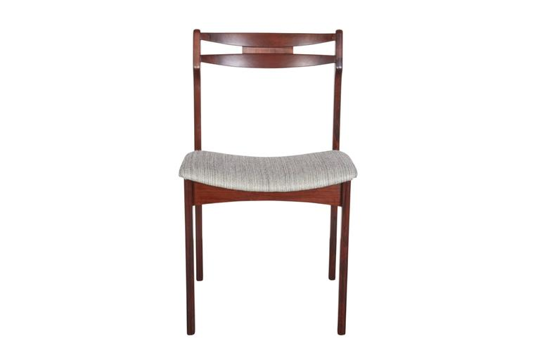 Mid Century Rosewood Dining Chairs, Set of 6 4