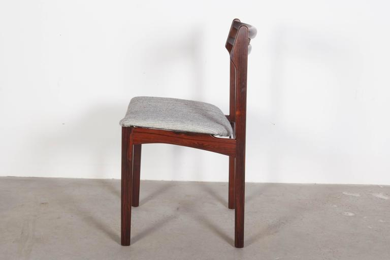 Mid Century Rosewood Dining Chairs, Set of 6 6