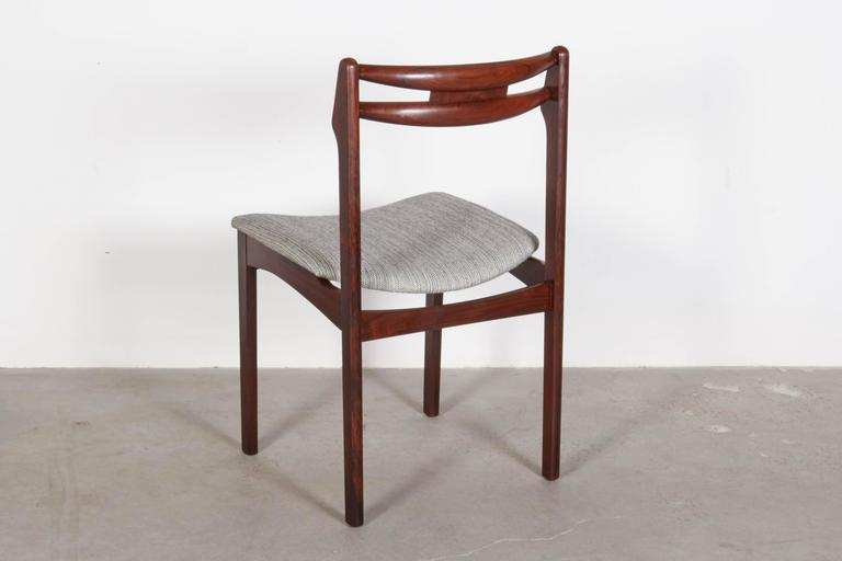 Mid Century Rosewood Dining Chairs, Set of 6 7