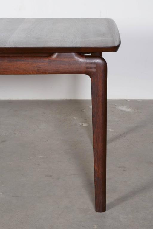 Mid Century Rosewood Coffee Table by Hvidt & Mølgaard 2