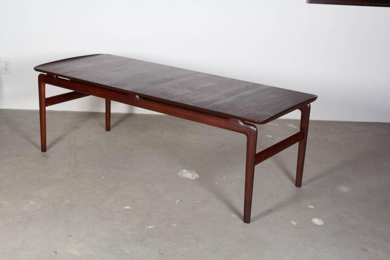 Mid Century Rosewood Coffee Table by Hvidt & Mølgaard 3
