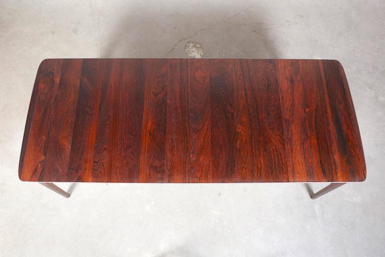 Mid Century Rosewood Coffee Table by Hvidt & Mølgaard 8
