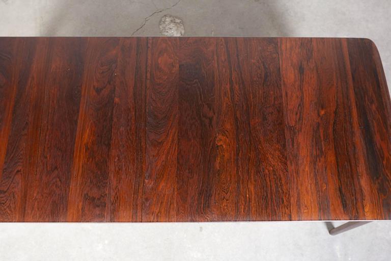 Mid Century Rosewood Coffee Table by Hvidt & Mølgaard 9
