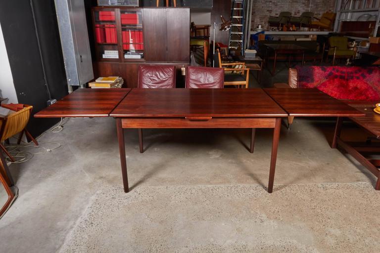 Mid Century Rectangular Rosewood Dining Table by Omann Jun 3