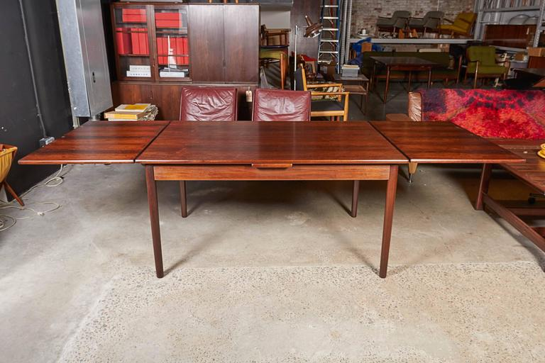 Mid Century Rectangular Rosewood Dining Table by Omann Jun 4