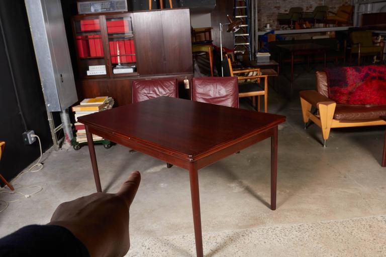 Mid Century Rectangular Rosewood Dining Table by Omann Jun 5