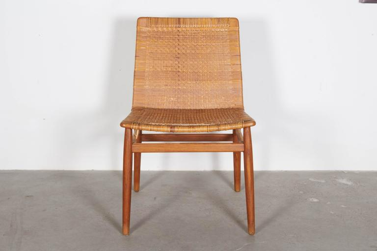 Wicker Desk Chair 2