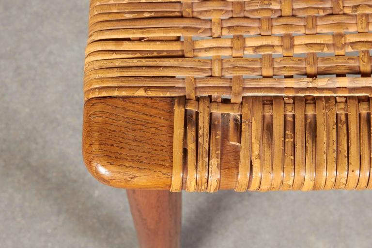 Wicker Desk Chair 9