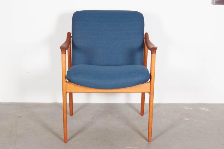 Mid Century Teak Arm Chair by Rastad & Relling 2
