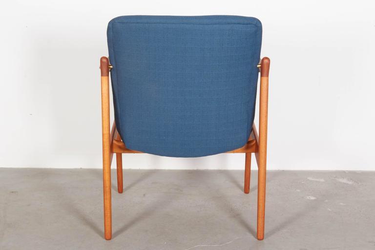 Mid Century Teak Arm Chair by Rastad & Relling 6