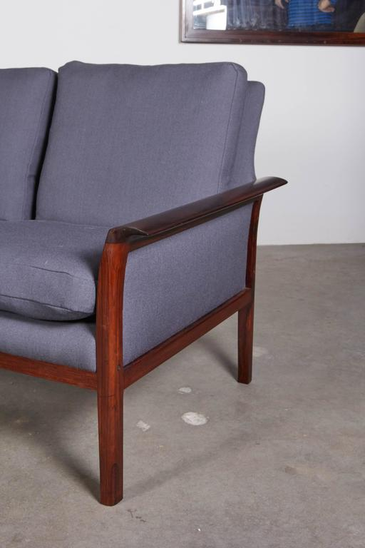 Mid Century Four-Seat Sofa by Knut Saeter  3