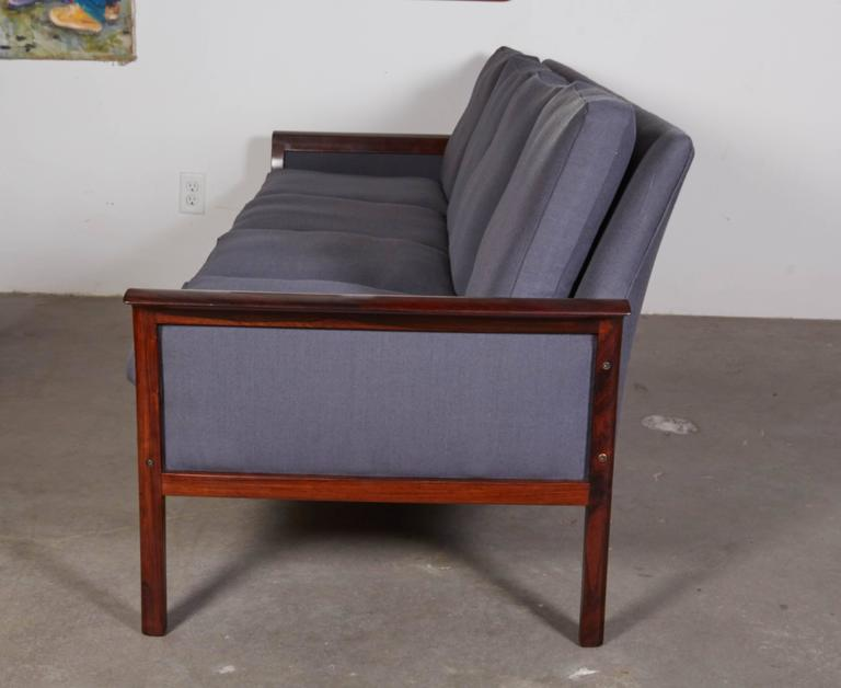 Mid Century Four-Seat Sofa by Knut Saeter  4