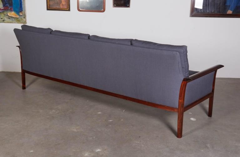 Mid Century Four-Seat Sofa by Knut Saeter  5