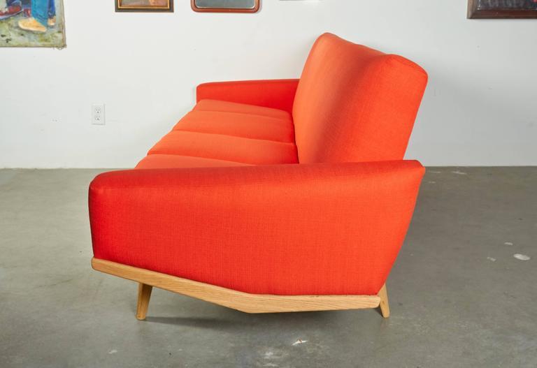 HW Klein Orange Sofa 4