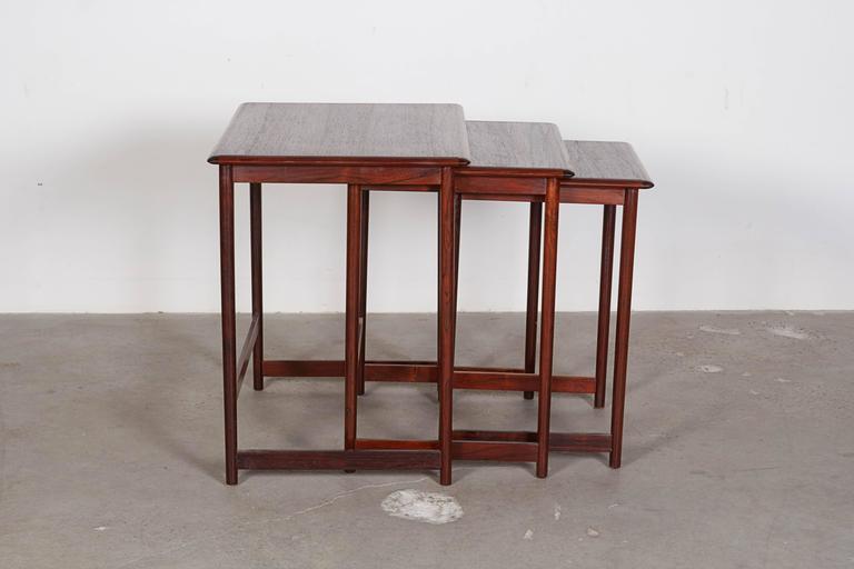 Mid Century Nesting Table by Arne Halvorsen 2