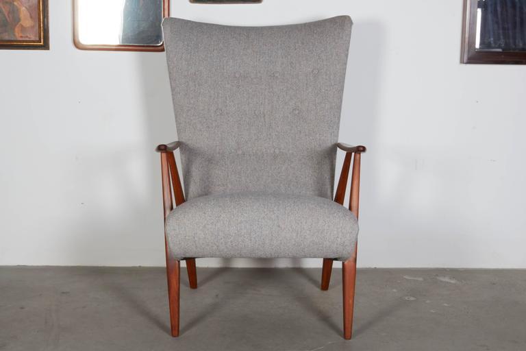 Mid Century Teak Arm Chair 3