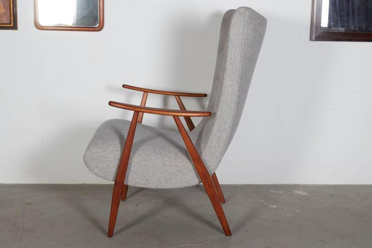 Mid Century Teak Arm Chair 5