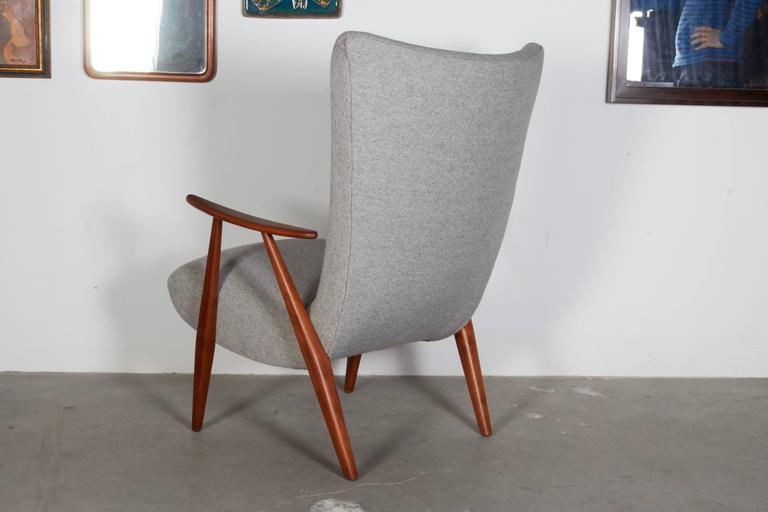 Mid Century Teak Arm Chair 6