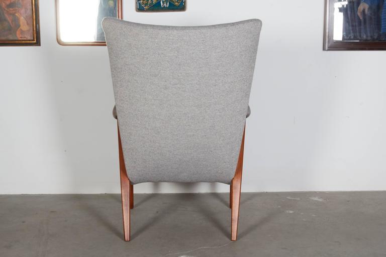 Mid Century Teak Arm Chair 7