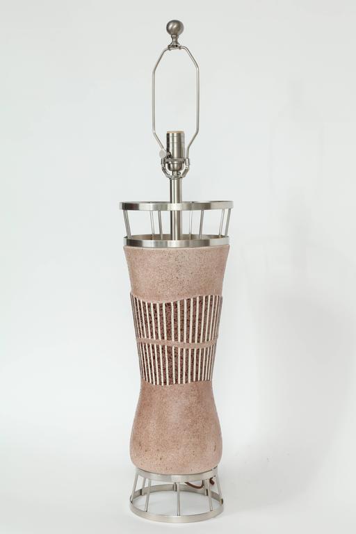 American Tye of California Ceramic Lamps For Sale
