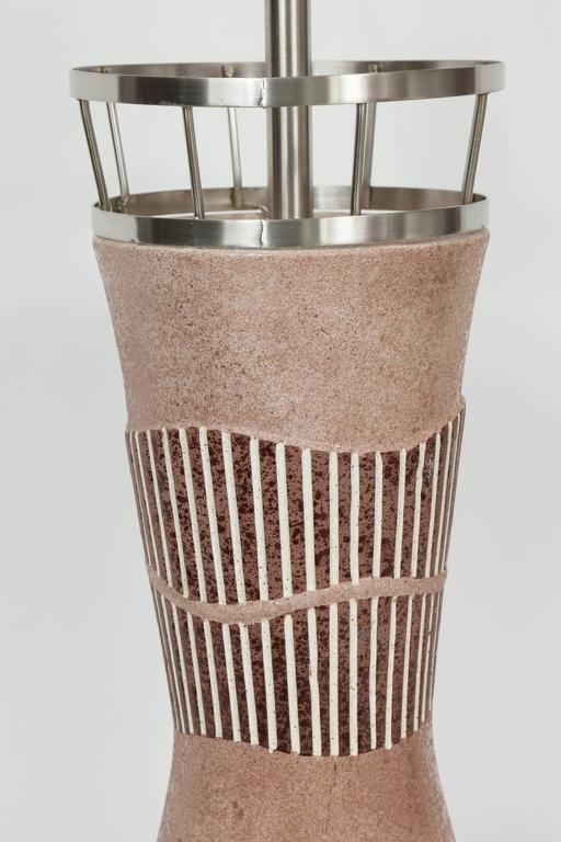 Tye of California Ceramic Lamps For Sale 2
