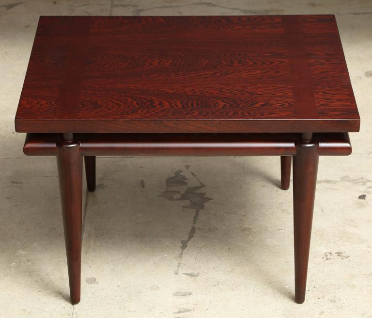 Mid-Century Modern Widdicomb Rosewood Mid-Century Side Tables For Sale