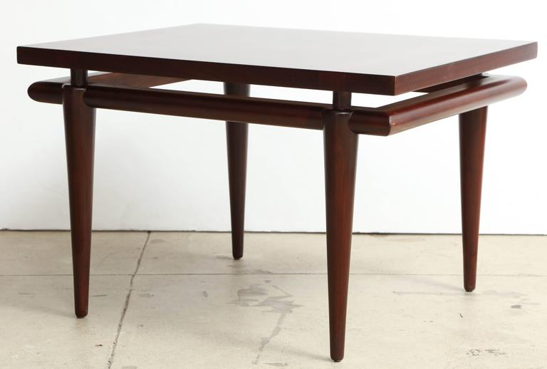 American Widdicomb Rosewood Mid-Century Side Tables For Sale