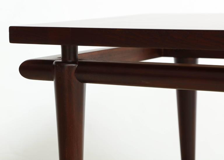 20th Century Widdicomb Rosewood Mid-Century Side Tables For Sale
