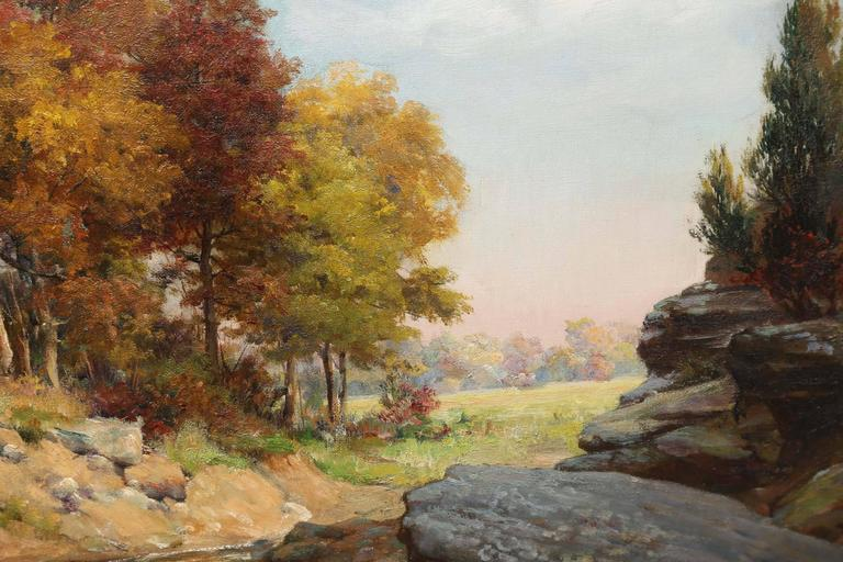 American Charles Abel Corwin Painting For Sale