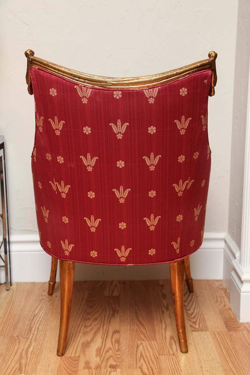 Pair of Hollywood Regency Armchairs For Sale 1