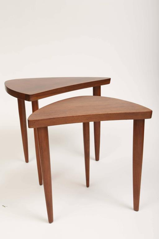 Walnut George Nakashima Sundra Tables For Sale