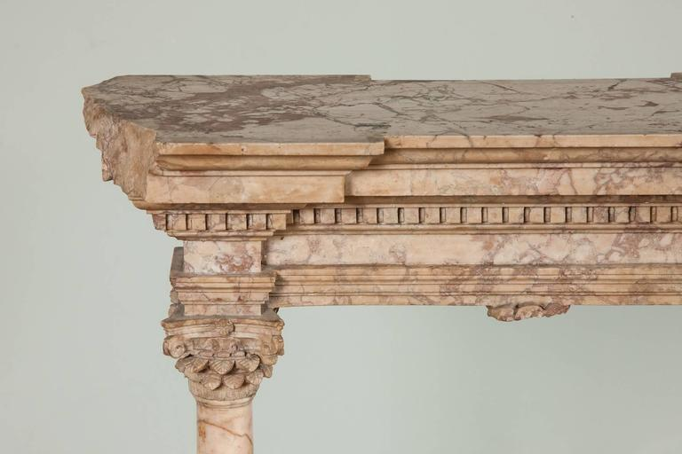 Marble Fine Early to Mid-19th Century Grand Tour Portico For Sale