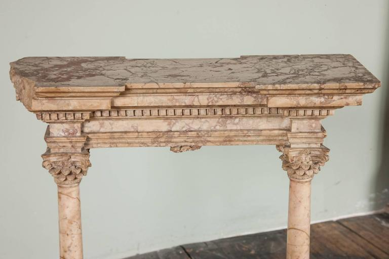 Fine Early to Mid-19th Century Grand Tour Portico For Sale 1