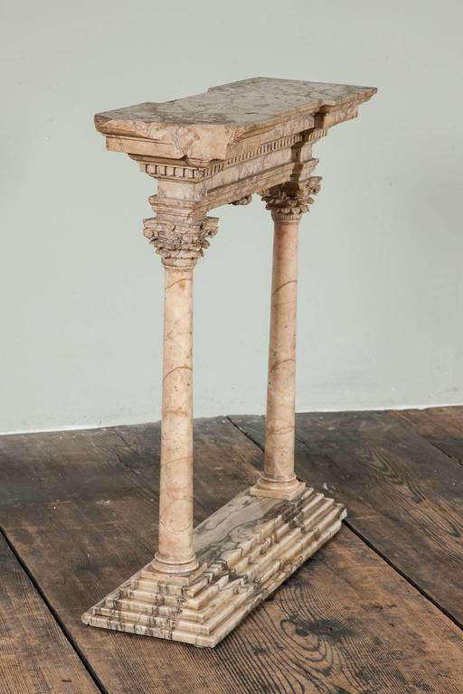 Fine Early to Mid-19th Century Grand Tour Portico For Sale 2