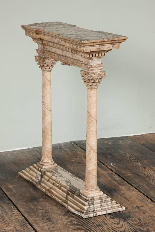 Fine Early to Mid-19th Century Grand Tour Portico For Sale 3