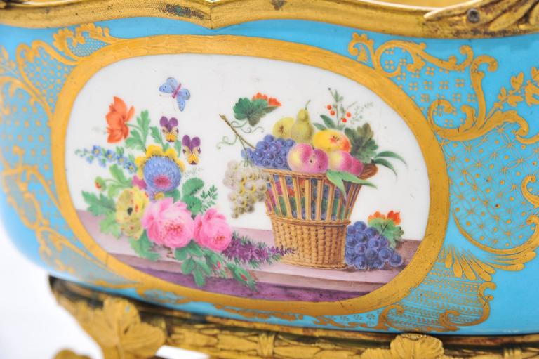 19th Century Sevres Jardiniere For Sale 1