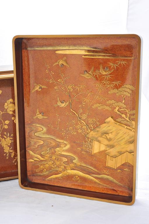 Fine Quality Japanese Lacquer Box In Excellent Condition For Sale In Brighton, Sussex