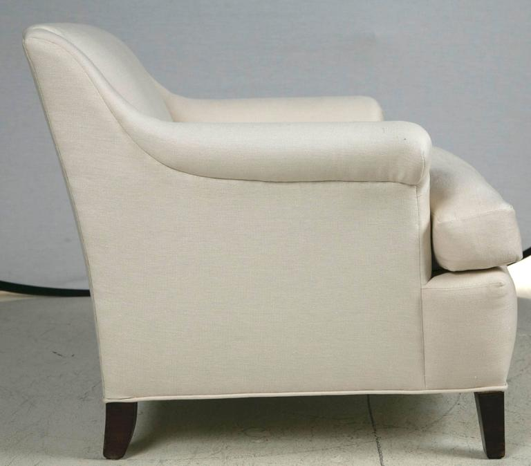 vintage club chairs newly reupholstered for sale at 1stdibs