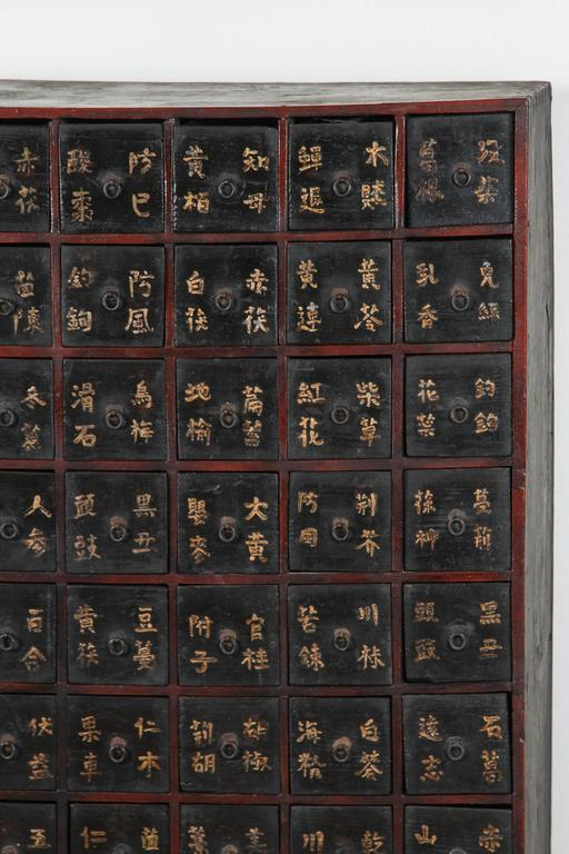 Antique Chinese Apothecary Chest For Sale at 1stdibs