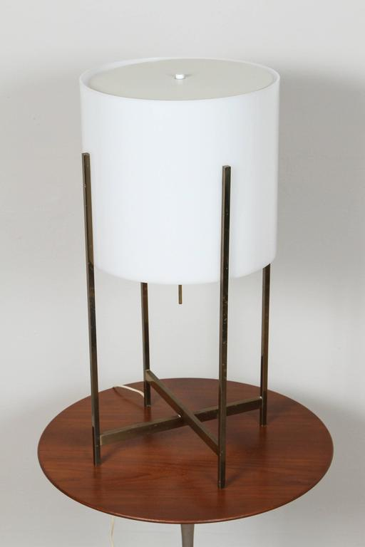 1970s Habitat Brass Table Lamp 3