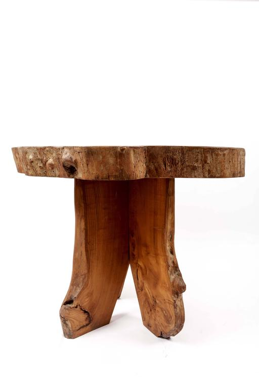 Wooden Live Edge Table 4