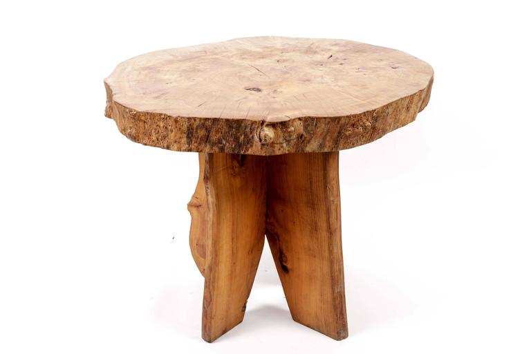 Wooden Live Edge Table 9